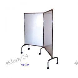 Parawan narożny 2x 195/100 cm na kółkach [Ogr_04]