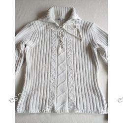 Sweter damski X-mail roz M biały Odzież damska