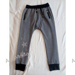 Mini Angel Spodnie w pepitkę roz.128. Odzież