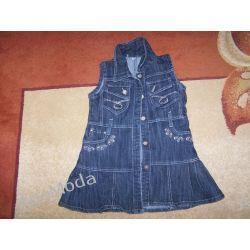 Sukienka dżinsowa 4-5lat