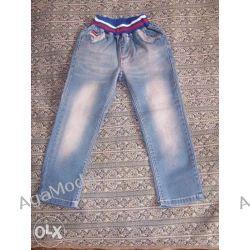 Spodnie dżinsowe wiek ok.3-4lata Odzież