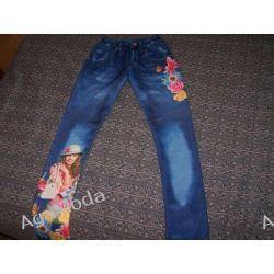 Spodnie -leginsy 134/140 Inne spodnie