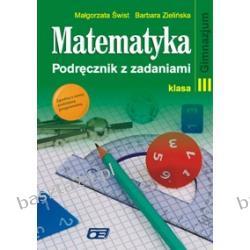 Matematyka 3. podręcznik z zadaniami. Świst. Pazdro