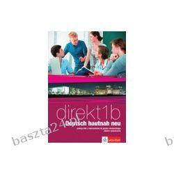 Direkt Deutsch 1b. liceum. podręcznik z ćw. Lektorklett