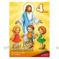 Religia. Pan Bóg kocha dzieci. 4-latki. podręcznik. Łabendowicz. AVE Radom/Sandomierz