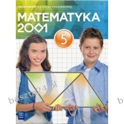 Matematyka 2001. kl. 5. zbiór zadań. WSiP