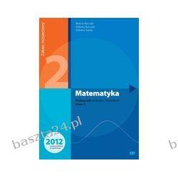 Matematyka 2. liceum. podręcznik. zakres rozszerzony. Kłaczkow. Pazdro
