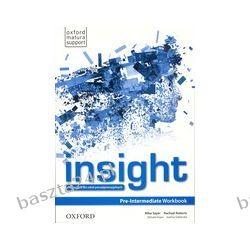 Insight. pre-intermediate. workbook. Oxford
