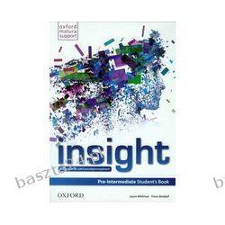 Insight. pre-intermediate. student's book. Oxford