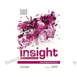 Insight. intermediate. workbook. Oxford