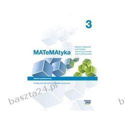 Matematyka 3. liceum. podręcznik. zakres podst. Babiański. Nowa Era