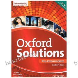 Oxford Solutions. pre-intermediate. student's book. Oxford