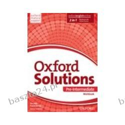 Oxford Solutions. pre-intermediate. workbook. Oxford