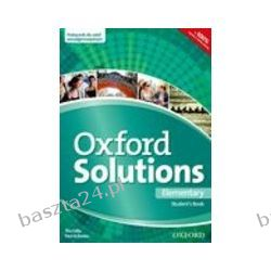 Oxford Solutions. elementary. student's book. Oxford