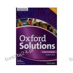 Oxford Solutions. intermediate. student's book. Oxford