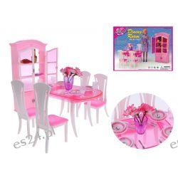 Jadalnia HIPSTER kredens mebelki Barbie EduCORE Mebelki dla lalek