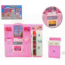 Kuchnia HIPSTER oświetlenie mebelki Barbie EduCORE Dla Dzieci