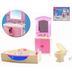 Łazienka HIPSTER wanna mebelki Barbie EduCORE Mebelki dla lalek