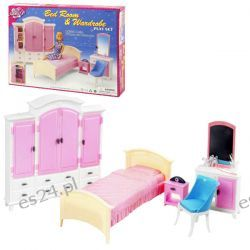 SYPIALNIA HIPSTER duża szafa mebelki Barbie EduCORE Dla Dzieci
