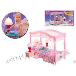 SYPIALNIA baldachim światło mebelki Barbie EduCORE Dla Dzieci