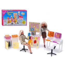 GABINET FUTURO pokój komputerowy meble dla Barbie EduCORE Dla Dzieci
