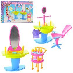 Fryzjer fryzjerka salon FUN mebelki Barbie EduCORE Dla Dzieci