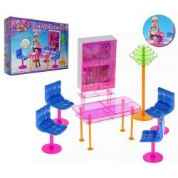 Jadalnia FUN szkło kredens mebelki Barbie EduCORE Dla Dzieci