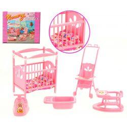 DZIECKO pokój dziecka łóżeczko mebelki Barbie EduCORE Dla Dzieci