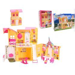 DOMEK dla lalki PRZEDSZKOLE meble dla Barbie EduCORE Dla Dzieci