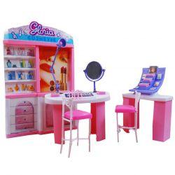 KOSMETYCZKA salon piękności meble dla Barbie EduCORE Dla Dzieci