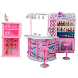 BAR kawiarnia CITY meble dla Barbie EduCORE