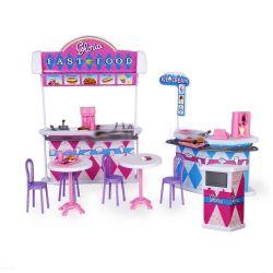 Fast-food cukiernia fastfood mebelki dla Barbie EduCORE Dla Dzieci