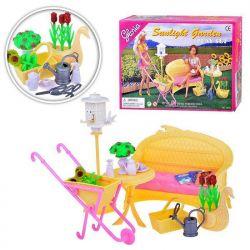 Słoneczny Ogród lampa stół mebelki Barbie EduCORE Dla Dzieci