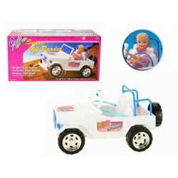 AUTO TERENOWE oświetlenie mebelki Barbie EduCORE Dla Dzieci
