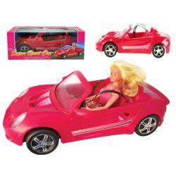 Auto CABRIO ze światłami 44cm dla Barbie EduCORE Dla Dzieci