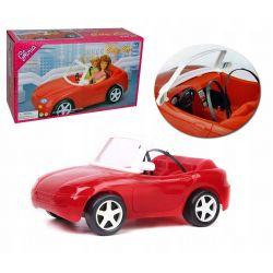 AUTO sportowe RED CABRIO mebelki Barbie EduCORE Zabawki