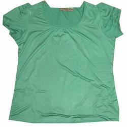 NOTATIONS bluzka zielona bufki  XL NOWA Z  USA
