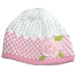 AMBRA cudna CZAPKA  beret dla dziewczynki  4-5 Lat