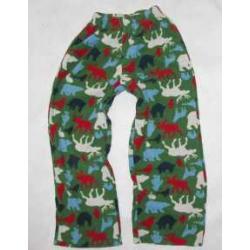 OLD NAVY  polarowe spodnie od piżamy ok 7 lat USA