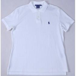 POLO RALPH LAUREN koszulka biała POLÓWKA t-shirt