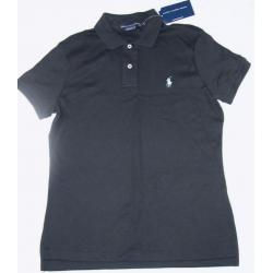 RALPH LAUREN SPORT koszulka polo czarna  M z USA