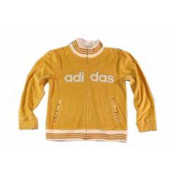 ADIDAS ciepła luksusowa bluza welurowa 6 T z USA