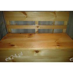 Lakierowana Skrzynia drewniana siedzisko schowek Rośliny pokojowe