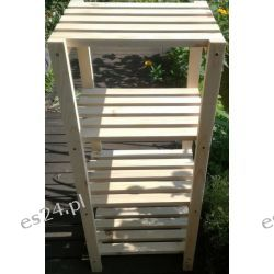 Mocny Regał drewniany - Sosna 45 x 30 x 110 cm Meble