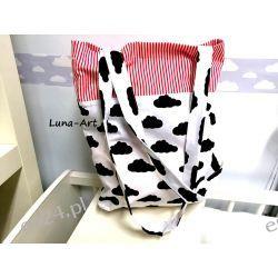 Shopperka,Eko-torba na zakupy, Chmurki/pasy