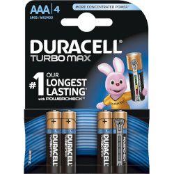 Baterie paluszki małe Duracell Turbo Max AAA - 4szt.