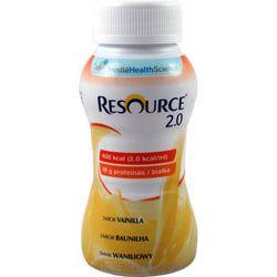 Nestle Resource 2.0 - drink waniliowy 4x200ml - 1 opak.