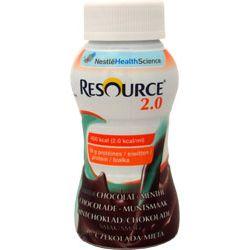 Nestle Resource 2.0 - drink czekolada + mięta 4x200ml - 1 opak.