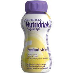 Nutricia Nutridrink Yoghurt - waniliowo-cytrynowy - dieta wysokoenergetyczna - o