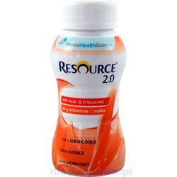 Nestle Resource 2.0 - drink morelowy 4x200ml - 1 opak.